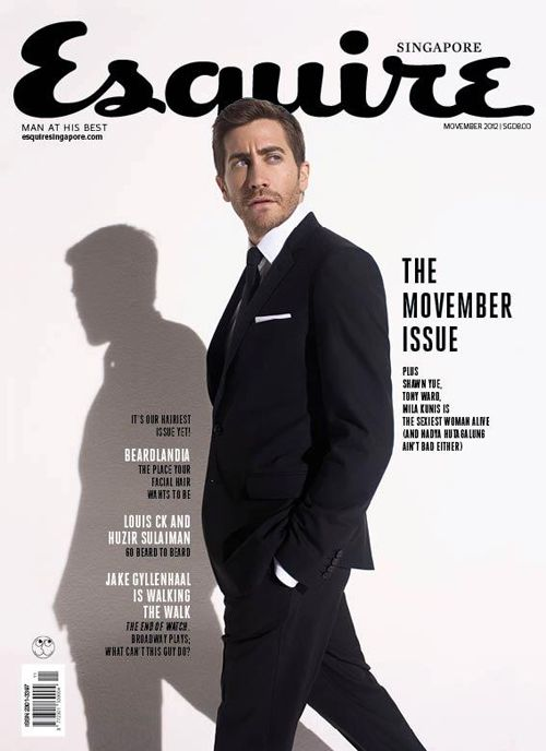 Esquire Singapore - Jake Gyllenhaal