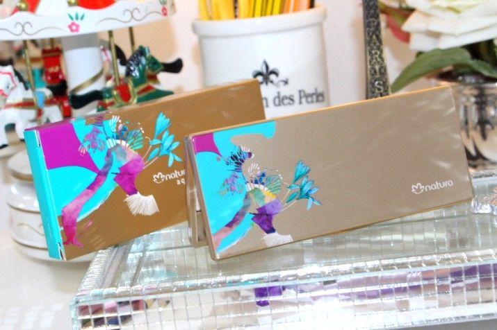 Estojo de Sombras Natura Aquarela    por Thatiane Lovato | Atmosfera glamour       - http://modatrade.com.br/estojo-de-sombras-natura-aquarela