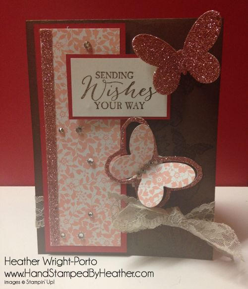 Hand Stamped By Heather, Heather Wright-Porto, Stampin' Up! Demonstrator: Happy Stampers Color Combo Challenge!