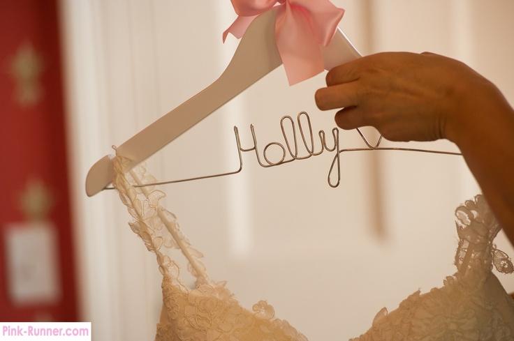 Wedding - bridal hanger
