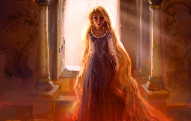 Disney concept art for Tangled - Claire Keane