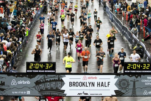 Record-breaking numbers finish in Brooklyn