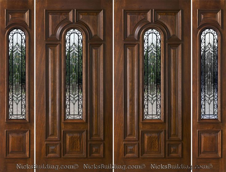 17 best double doors with sidelights images on pinterest for Peachtree fiberglass entry doors