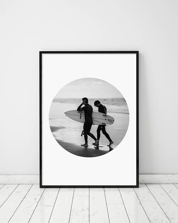 Surf Print Surfing Print Surf Surfing Photography Surfing