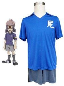 Uniforme del fútbol de escuela Secundaria-traje de cosplay Cool Inazuma eleven
