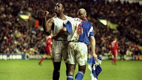 Blackburn Rovers; Liverpool; Anfield; Nathan Blake