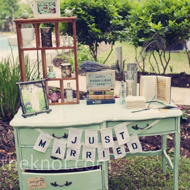 44 best Guest Book Table images on Pinterest | Weddings, Single ...