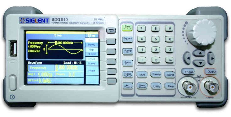 Programmable DDS Signal Generator Counter,Koolertron Upgraded 80MHz 3.5inch Screen High Precision Dual-Channel Arbitray Waveform Function Generator Frequency Meter 300MSa//s