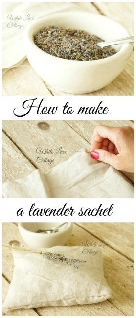 How to make a #lavender #sachet #pillow. Maybe with some old cloth handkerchiefs.