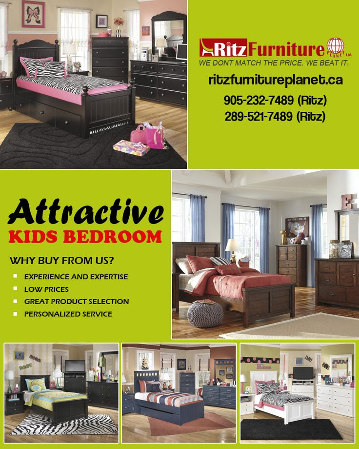 Buy #Attractive #Kids_Bedroom_Furniture in Mississauga  Visit our #FurnitureStore: 5200 Dixie Rd, #Mississauga, #Ontario L4W 1E8, #Canada  Website: http://www.ritzfurnitureplanet.ca/Bedroom-Furniture/Kids-Bedroom/  Phone: 905-232-7489, 289-521-7489  #AttractiveKidsFurniture #SALE #KidsFurniture #KidsBeds #Baby_Bedroom_Furniture