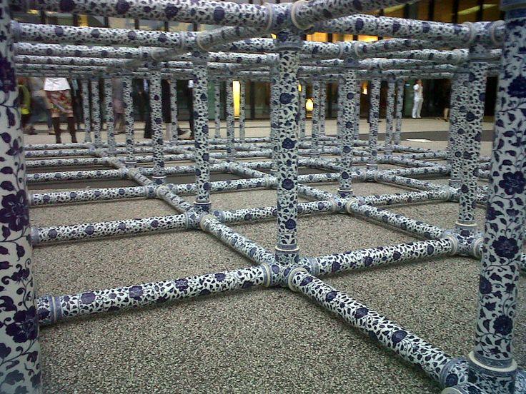 Special scaffolding from Weiwei