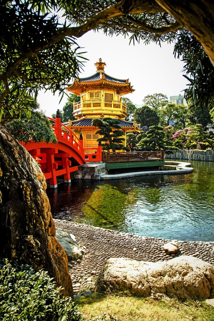 Pavilion of Absolute Perfection, Nan Lian Garden, Hong Kong