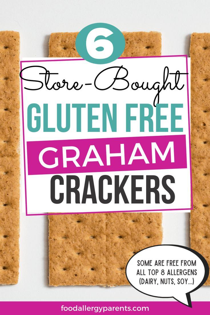 Best StoreBought Gluten Free Graham Crackers, S'mores