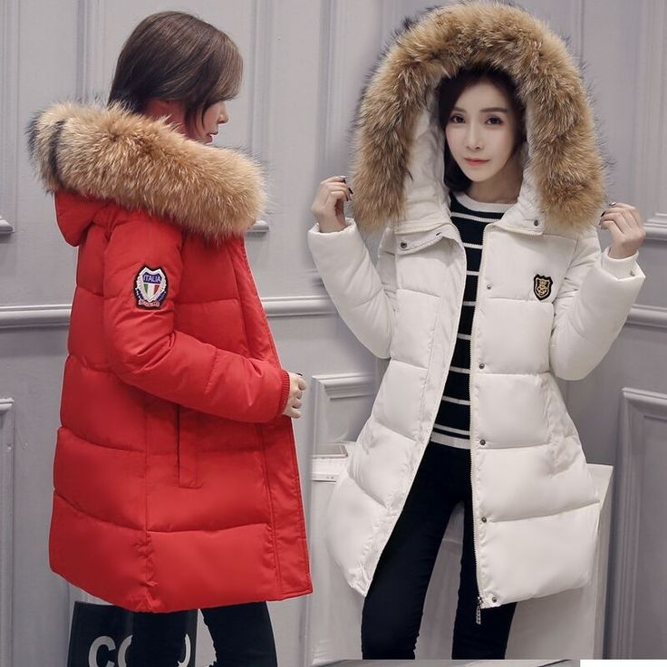 38.99$  Buy here  - Ladies Winter Jackets and Coats 2017 Thick Hooded Cotton Cotton Filled Parker for Women Winter Jacket Women clothes Overcoat