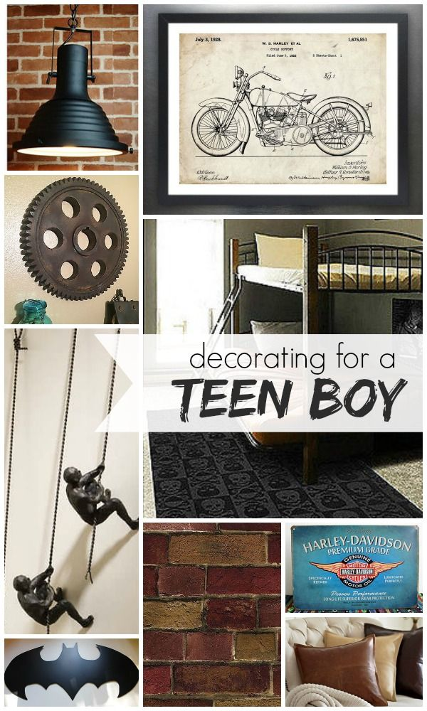 Decorating a Teen Boy's Room @Remodelaholic #spon #teen #boy #decorating