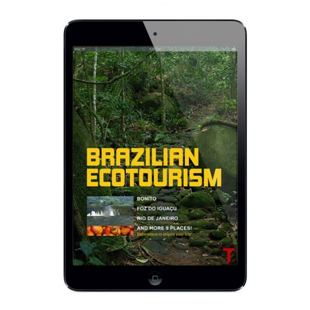 Ecotourism experiences in 13 different places in Brazil. All visited by real travelers and authors from Territórios. It's about 47 pages full of histories, tips and photos to inpire your trip around my country.