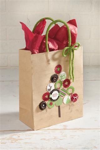 Stampin' Up! Gift bag design that would also make a great card