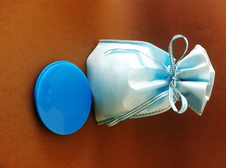 Baby blue plexiglass souverre for Christening.Can be personalised with initials or the name of the baby!