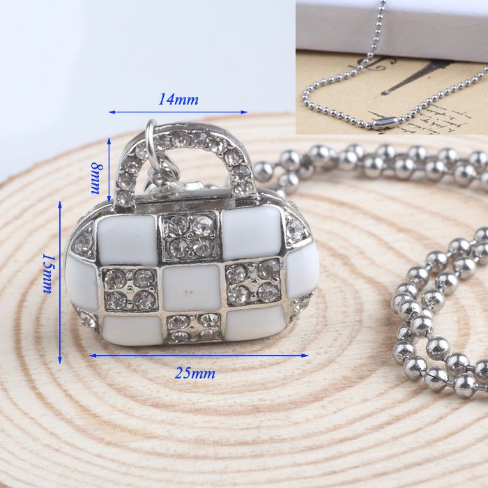Find More Pendant Necklaces Information about Fashion 15**25mm Crystal bag pendant necklace Silver plating Stainless Steel necklace pendant jewelry for women,High Quality necklace recorder,China jewelry handpiece Suppliers, Cheap jewelry closure from NIBA Jewelry  on Aliexpress.com