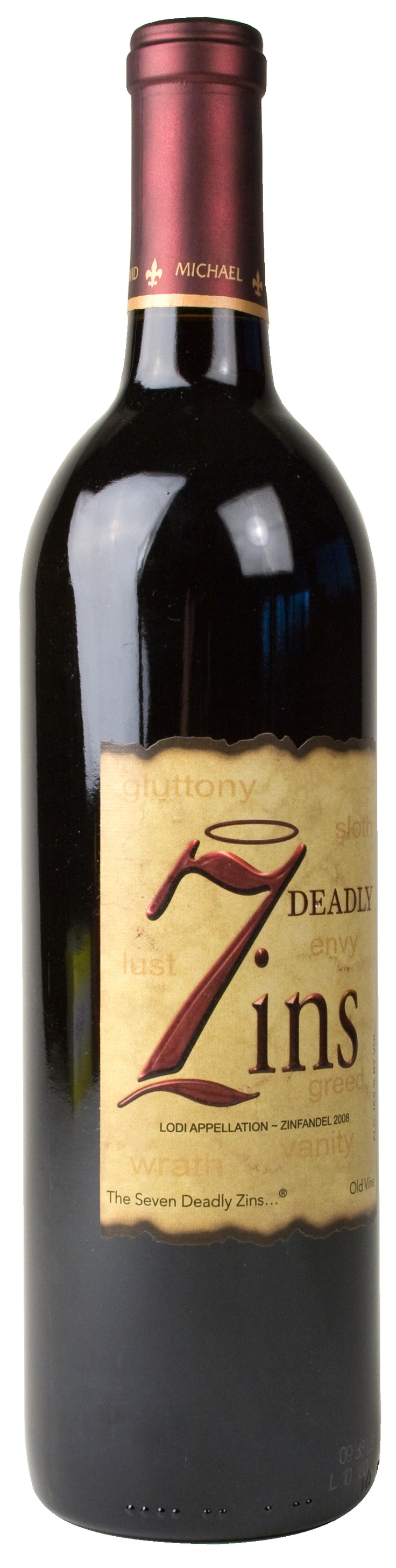 7 deadly zin. Yum.