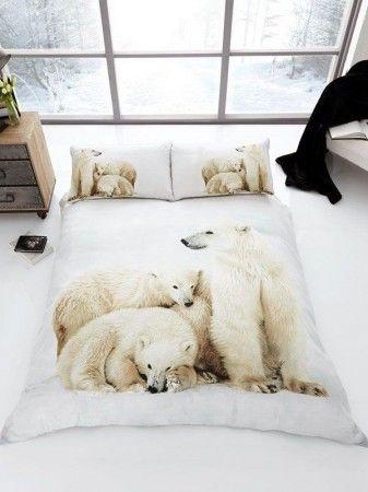 Jegesmedvék ágyneműhuzat