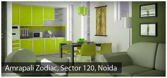 Amrapali Zodiac is an exclusive township developed by Amrapali Group amidst Noida, Uttar Pradesh, and Sector 120. Zodiac offers homes in range of 2 and 3 BHK apartments in size of 950 to 2450 sq. ft.