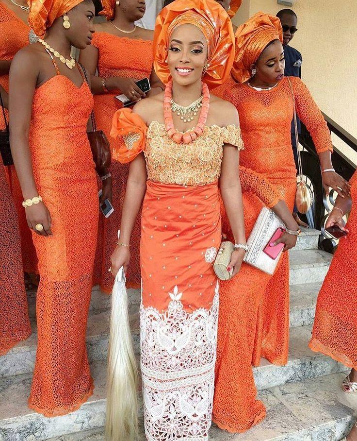 Igbo Nigerian Wedding: 10+ Images About The Nigerian Wedding Dress / Styles On