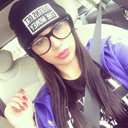 #SWAG and her beanie <3