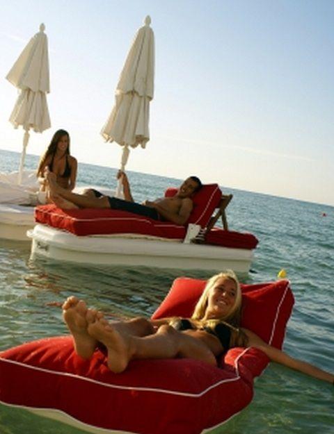 Floating Cabana: The SeaDuction Float