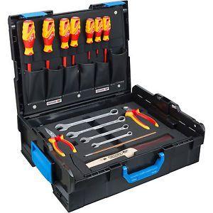 GEDORE Werkzeugkasten L-BOXX 136 Basic Sortiment 16-tlg. Handwerkzeugset