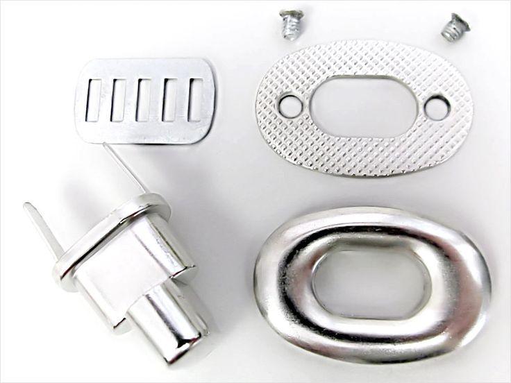 How to Insert a Turn or Twist Lock Closure | Sew4Home