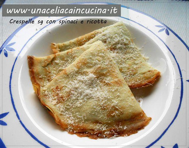 Crespelle ricotta spinaci