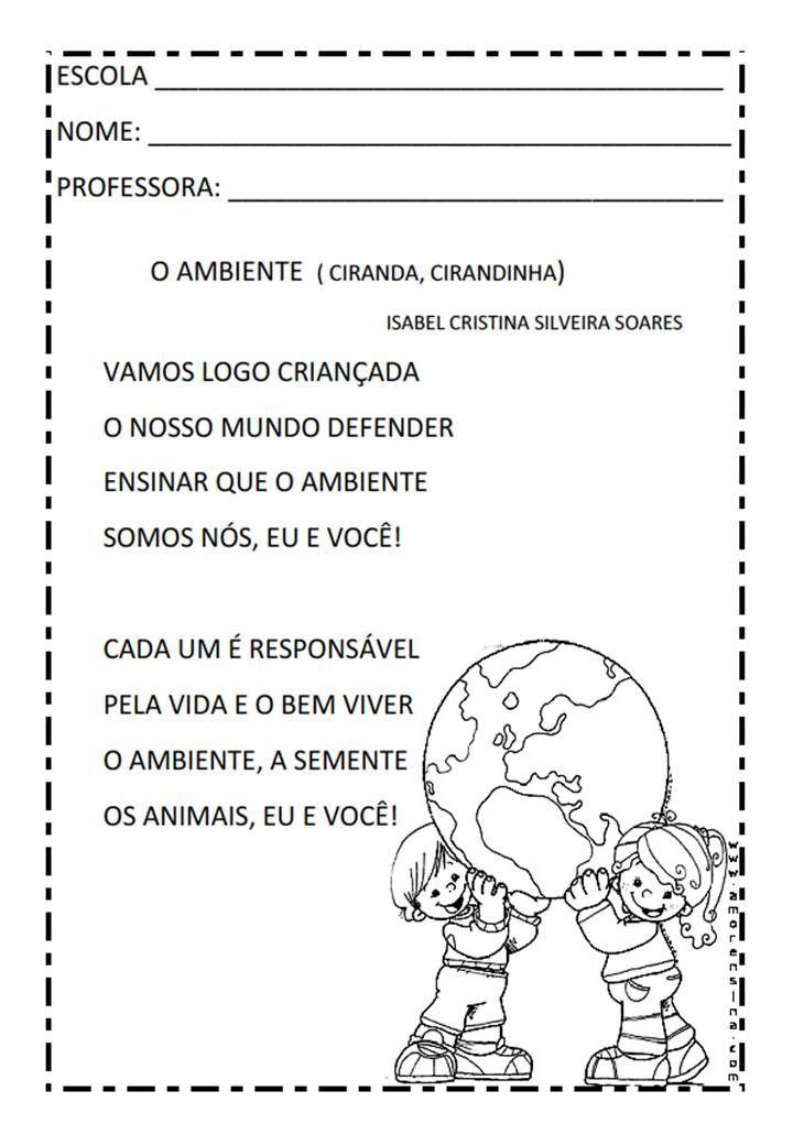 Ambiente Musica Jpg 720 1040 Textos Para Criancas Dezenas E