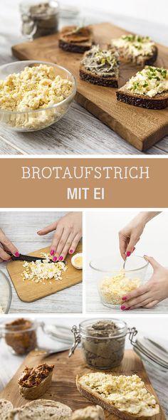 Rezept: Eier-Brotaufstrich / recipe for egg sandwich spread via DaWanda.com