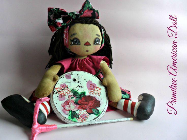 Primitive American Doll