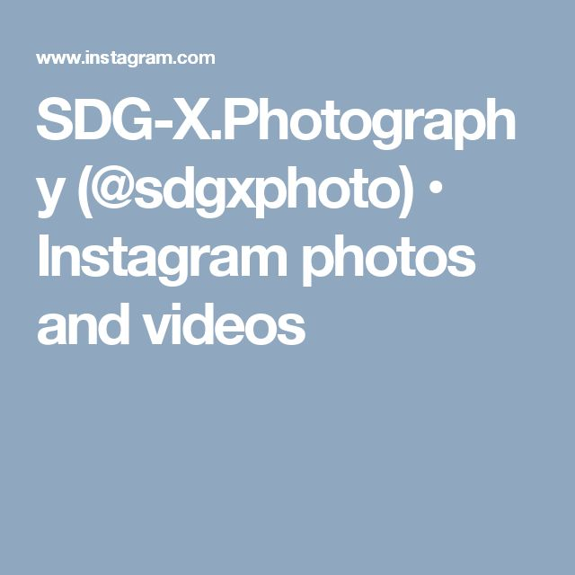 SDG-X.Photography (@sdgxphoto) • Instagram photos and videos