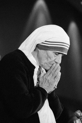 Mother Teresa...Blessed Teresa of Calcutta, M.C.,[1] commonly known as Mother Teresa (26 August 1910 – 5 September 1997), was a Roman Catholic Religious Sister and missionary[2] of Albanian origin who lived for most of her life in India.