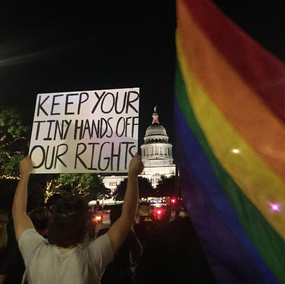 28 Signs From Trump Protests That Will Make You Laugh Harder Than You Should