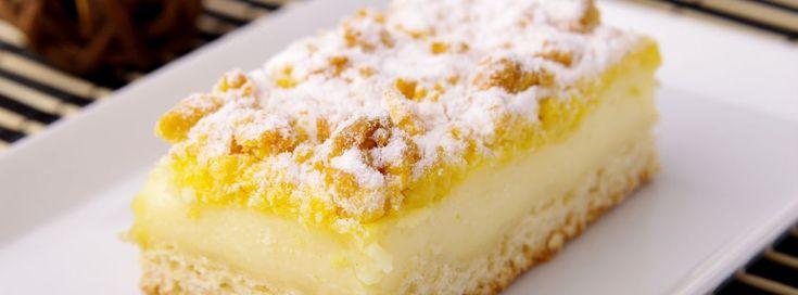 Streuselkuchen mit Vanillecreme | Haas Austria