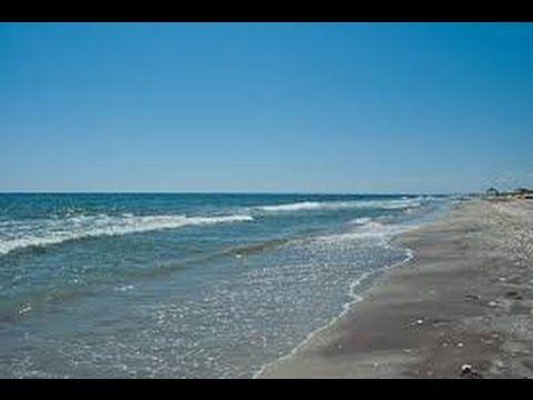 Romanian Beach in Delta Biosphere - Vadu. HD @