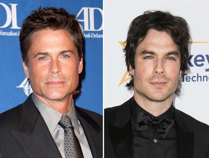 Rob Lowe and Ian Somerhalder - Richard Shotwell/Invision/AP
