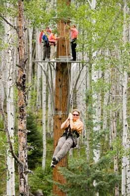 Soaring® Tree Top Adventures
