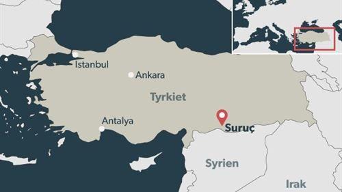 27 dræbt i tyrkisk grænseby til Syrien | Nyheder | DR