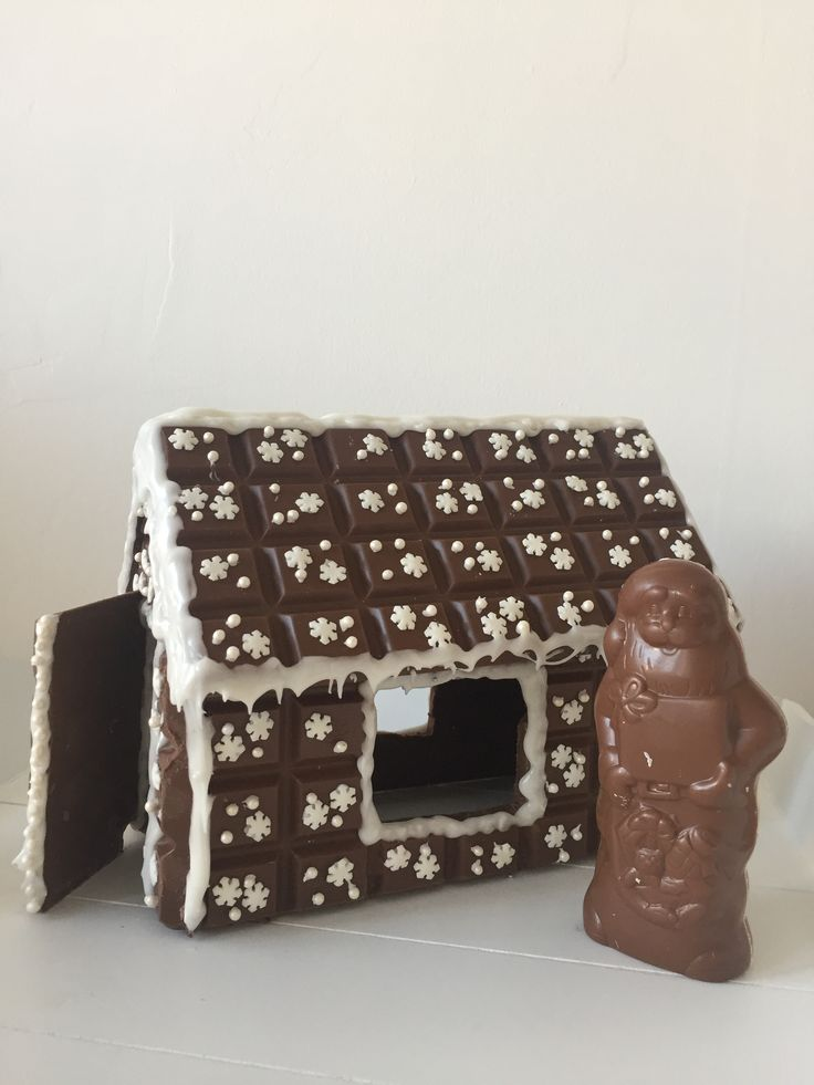 #chocolate #house #santaclaus #marabou #christmas