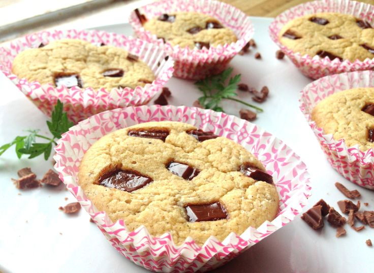 lindastuhaug | Sukkerfri vaniljemuffins med sjokoladebiter
