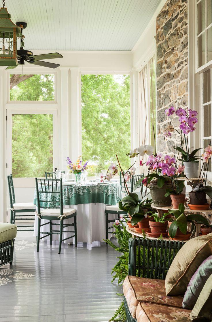 442 best Porches, decks & sunrooms images on Pinterest | Gardens ...