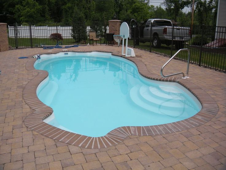 25 best images about diy inground pool on pinterest for Fiberglass pool kits