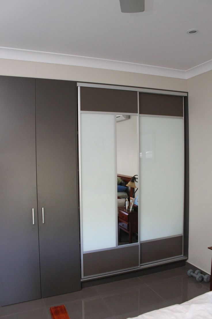 """Yes, you can put sliding doors alongside existing cabinets.   Our clients selected the sliding doors from our """"Troppo Range"""".  www.formfunctionnt.com.au."""