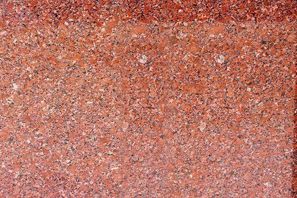 Red Bush Hammered Stones - v Stone