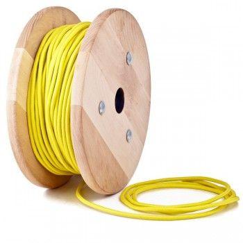 Kábel dvojžilový v podobe textilnej šnúry.Textilná kabeláž v rôznych farbách, materiáloch a štýlových typoch bude krásnym prírastkom do Vašej domácnosti alebo kancelárie